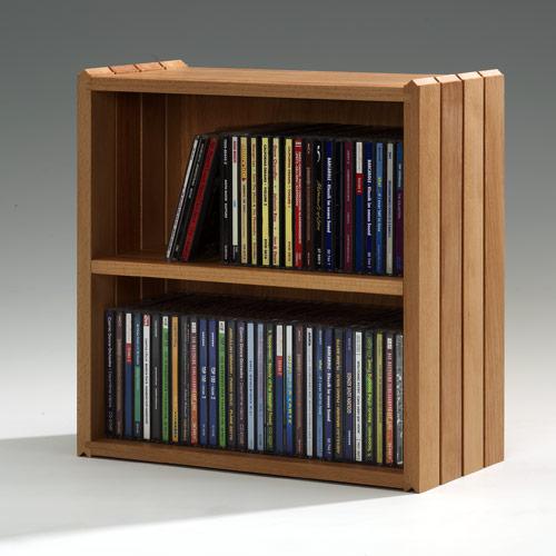 die Stapelbox - Halbe Stapelbox für CDs und Taschenbücher