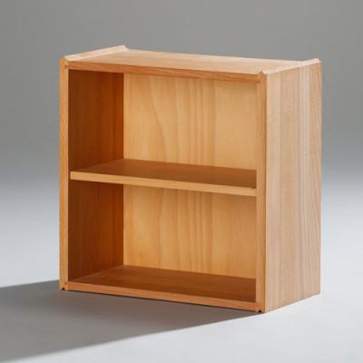 17403-halbe-wasa-stapelbox-mit-massiven-seiten-fuer-cd-holzboden